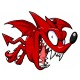 Deimon Devil Bats logo.
