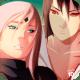 Sasuke and Sakura art