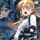 Rei holding an assault rifle.