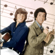 "Wes Stern (with Bobby Sherman on left) possibly best remembered for the short lived series ""Getting Together"" which co starred Bobby Sherman.   The show was a spin off of sorts from the popular ""The Partridge Family""."