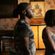 Nelsan Ellis (Lafayette) and Rutina Wesley (Tara).