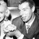 Marilyn Monroe & Joe DiMaggio.