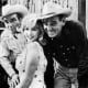 Montgomery Clift, Marilyn Monroe & Clark Gable in The Misfits (1961).