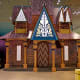 The architecture of Frozen's Arendelle reproduced for a Christmas event in Singapore.
