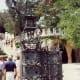 Palmetto Palm design in Güell Park iron gate