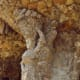 Note the woman in the column in Güell Park?
