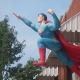 Another Superman statue in Metropolis, Illinois.
