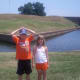 Picture of Moat outside of Ft Pulaski.