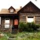 Log Cabin House in Cripple Creek