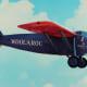 The Woolaroc Plane in Flight