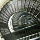 Stairs at Bodie Lighthouse on the Outer Banks.