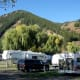 Pretty campground in Ketchum.
