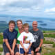 Cadillac Mountain overlooking Bar Harbor