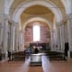 Church of Santi Leonardo and Christoforo.  Notice the Frescoes on the walls.