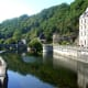 Reflections in the river Brantome