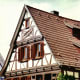 Cross-timbered (half-timbered) house in Herrenberg