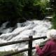 Ryuzu falls in summer.