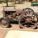 Early tractor from turn of the 20th century -