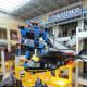 Large Lego Models above the Lego Store