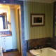 Part of the main bathroom in a two bedroom suite - there is also a separate ensuite off of one of the bedrooms.