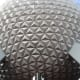 Spaceship Earth is located under the Epcot dome.