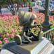 Pinocchio Statue at Disney's Magic Kingdom