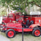 A fire truck from the past