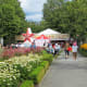 A view of the PNE Fair from the Italian Garden