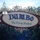 The famous Dumbo ride