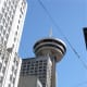The Harbour Centre has a revolving restaurant. It also offers an attraction called the Vancouver Lookout.