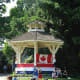 The bandstand on Canada Day