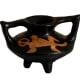 Lenca Winged Vase/Pot With Gecko Motif, Lempira