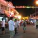 Jonker Walk is a popular night bazaar in downtown Malacca City.