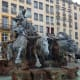 Bartholdi Fountain Across From the Museum of Fine Arts in Place des Terreaux