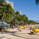 Waikiki beach near Hyatt Regency