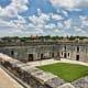 Courtyard of Castillo de San Marcos, Florida