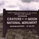 Craters of the Moon National Monument near Twin Falls, Idaho