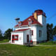 Cabot Head Lighthouse @ Bruce Peninsula National Park, Ontario, Canada