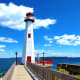 Wawatam Lighhouse in St. Ignace, Michigan