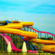 Triton's Fury Waterslide at Mt. Olympus Water in Wisconsin Dells, Wisconsin