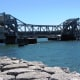 Sturgeon Bay Steel Bridge in Sturgeon Bay, Wisconsin.