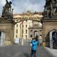 Prague Castle main entrance.