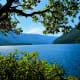 Lake Cresent in Olympic National Park near Seattle, Washington