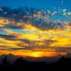 Sunset at Sklyand in Shenandoah National Park
