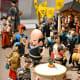 Matsuri revelers. Hakata Machiya Folk Museum is a delight for travelers into miniature photography.