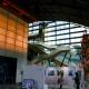 Main lobby of Kyushu National Museum, show piece of which is that immense Kazariyama.