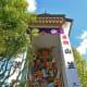 One of the two soaring Hakata Kazariyama Floats on display in Kushida Shrine. Isn't it a wonder to behold?