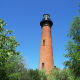 Currituck Lighthouse in Corolla, NC on the Outer Banks of North Carolina