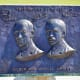 "Wilbur and Orville Wright ""They Taught Us To Fly"" marker at the Wright Brothers National Memorial in Kitty Hawk, NC - Outer Banks North Carolina"