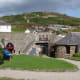 The main visitor center at Fort Dunree